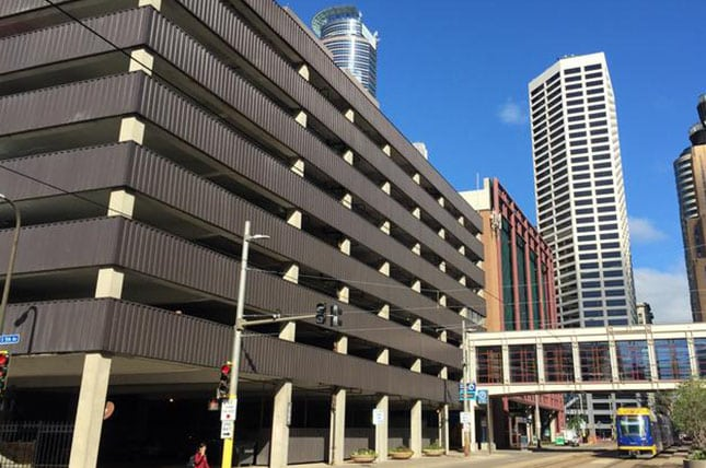 Minneapolis Parking Ramps
