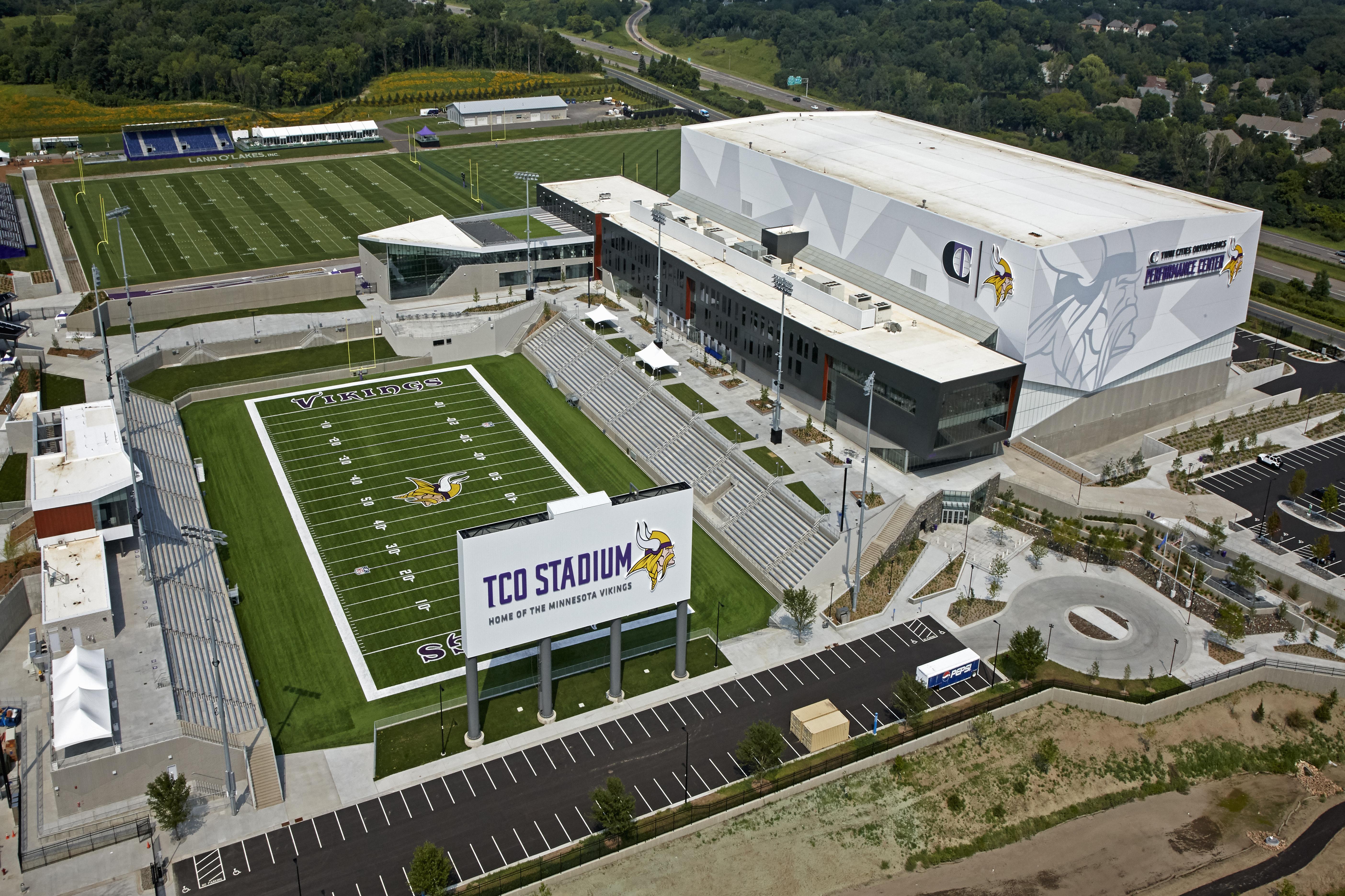 Minnesota Vikings TCO Performance Center